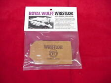 Royal Wulff Leather Wrist Lock Casting Great New