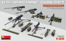 Miniart 1:35 SCALE   - U.S. Machine Gun Set MIN37047