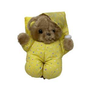 """Vintage Russ Berrie Bedtime Teddies Bear Plush 10""""Stuffed Animal"""