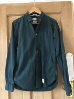 Superdry Mens Green Corduroy Shirt Size Small