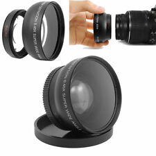 0.45X 52mm Digital High Definition Super Wide Angle Lens Macro for Canon Nikon
