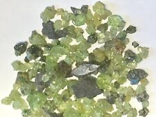 Green Peridot Raw /Rough Tumble Stones 5 Grams From  San Carlos Arizona 2-4mm