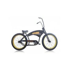 Micargi ROYAL DUTCH Chopper Oversize Beach Cruiser Fat Tire  Snow Black/ Gold