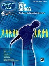 American Idol Presents, Vol 4: Pop Songs (Piano / Vocal / Chords), Book & CD