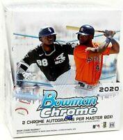 2020 Bowman Chrome Baseball Hobby Box Break! $12, RANDOM team, live draw!