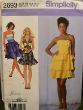 Laura Lynn/Simplicity 2693 Dress Sewing Pattern Size 4-12