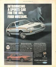 """(RST16) POSTER/ADVERT 13X11"""" THE FORD MUSTANG.."""