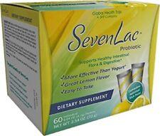 Global Health Trax Lemon SevenLac Probiotic Flora & Digestion Dietary Supplement