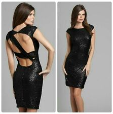 💋💋 GUESS BY MARCIANO VIDETTA ULTRA SEXY CLASSY SEQUINED DRESS 💋💋