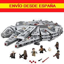 STAR WARS HALCON MILENARIO 75105 MILLENIUM FALCON compatible con LEGO
