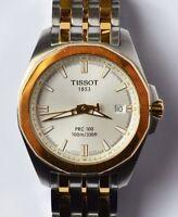 Tissot Quarz Armbanduhr Herren Herrenarmbanduhr Edelstahl z.T. vergoldet