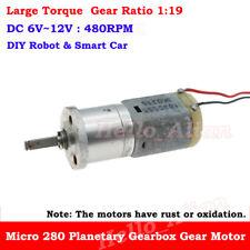 DC6V 12V 16GA//17GA Gear Reduction Motor Large Torque Gear Box Motor For DIY