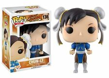 Street Fighter Chun-Li Funko vinilo Pop! figura #136