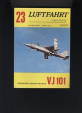 (195B) LUFTFAHRT International Nr 23: VJ 101...