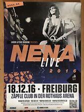 NENA  2016 FREIBURG  - orig.Concert Poster -- Konzert Plakat  A1 NEU