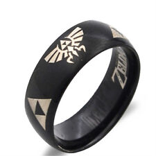 Moden Design The Legend Of Zelda Triangle Sign Ring 3 Colors Titanium Steel Ring