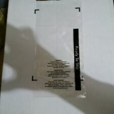 """250/CS 24x30 Suffocation Warning Bags Clear, Permanent Seal with """"Ready To Ship"""""""