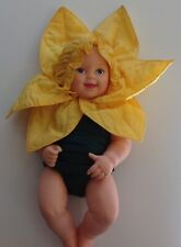 Anne GEDDES jonquille vintage 1998 collection grandes Vinyl Baby Doll Outfit TOY