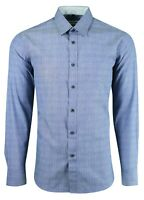 501 Details about  /MENS GRANDAD COLLARLESS LONG SL FORMAL CASUAL DRESS PARTY SHIRT FROM £9.99