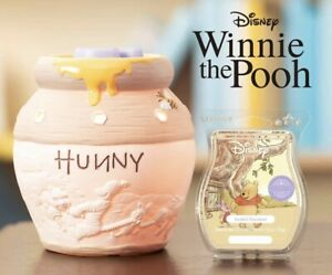 Scentsy Winne The Pooh Hunny Pot Warmer And Hundred Acre Woods Scent Bar