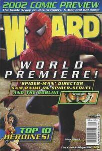 Wizard the Comics Magazine #125AU FN 2002 Stock Image
