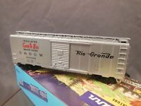 HO SCALE ATHEARN D&RGW 60082 40' BOX CAR O/B