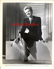 Vintage Anne Jeffreys SEXY LEGS PINUP '45 Publicity Portrait