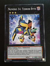 NUMERO 34: TERROR BYTE SP13-IT025 ITA YUGIOH - YUGI - YGO [MF]2
