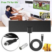 Rango real TDT HD Digital HDTV Amplificador ATSC DVB-T 1080P Interior TV Antena