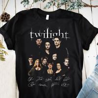 The Twilight Cast Full Signed Edward Cullen Bella Swan 2021 T-Shirt Size S-5XL