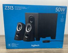 Logitech Z313 2.1 Speaker System - 980-000382