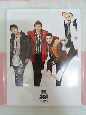 EXO KOLON SPORT 2013 Photo PostCard Type-E Official K-POP