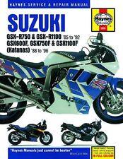 1985 - 1996 Suzuki GSXR750 GSXR1100 GSX600 GSX750 GSX1100 Repair Manual 9164