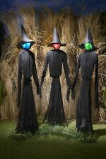 The Lakeside Collection Light-up Witches Halloween Yard Decorations With LED - 3