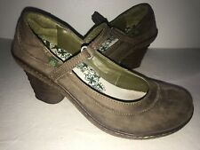 El Naturalista N760 Dome Size 39/8.5 Mary Jane Pumps