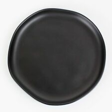 Hearth and Hand Salad/Dessert Plate BLACK Stoneware MAGNOLIA Joanna Gaines NWT