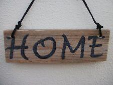 Hecho A Mano Pintado 'particular' casa de madera Paleta signo Shabby Chic Decoración de estilo vintage