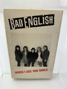 Bad English When I See You Smile (Cassette Single)