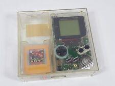 Nintendo Game Boy DMG-01 clear original retail store plastic case match serial