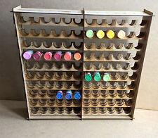 Paint Stand 240 bottle rack storage warpaint / Vallejo warhammer 40k wargames