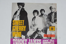 "TOMMY JAMES AND THE SHONDELLS -Sweet Cherry Wine / Breakaway- 7"" 45 Roulette"