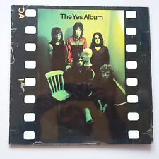 Yes - The Yes Album Vinyl LP German 1970's Press EX/VG+ Laminated Sleeve