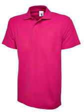 Uneek Classic Pique Poloshirt Unisex XS - 6XL 17 Colours 220gsm Work Polo Shirt