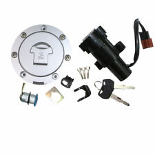 Ignition Switch Seat Fuel Gas Tank Cap Cover Lock Set For Honda CBR600RR ABS