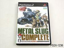 Metal Slug Complete (anthology) Playstation 2 Japanese Import PS2 JP US Seller