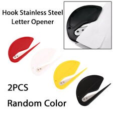 2pcs V Letter Safe Mini Open Letter Cutter Envelope Knife Cutter Opener Blade