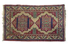 "Estate Vintage Handmade Turkish Rug 77"" L X 51""W"