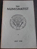 Antique Numismatist 1958 New Sutler Tokens, Bank of Canada Notes, Smillie Family