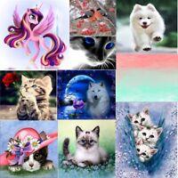 Animals DIY 5D Embroidery Diamond Sticker Cross Stitch Painting Home Decor New