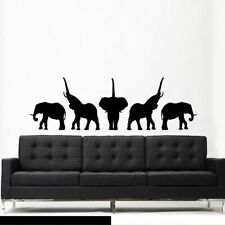 Wall Decal Sticker Elephant Animals Africa Safari Dorm Bedroom (Z3028)